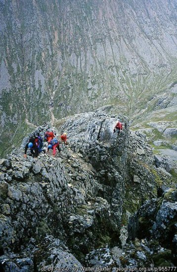 The Ledge Route up Ben Nevis