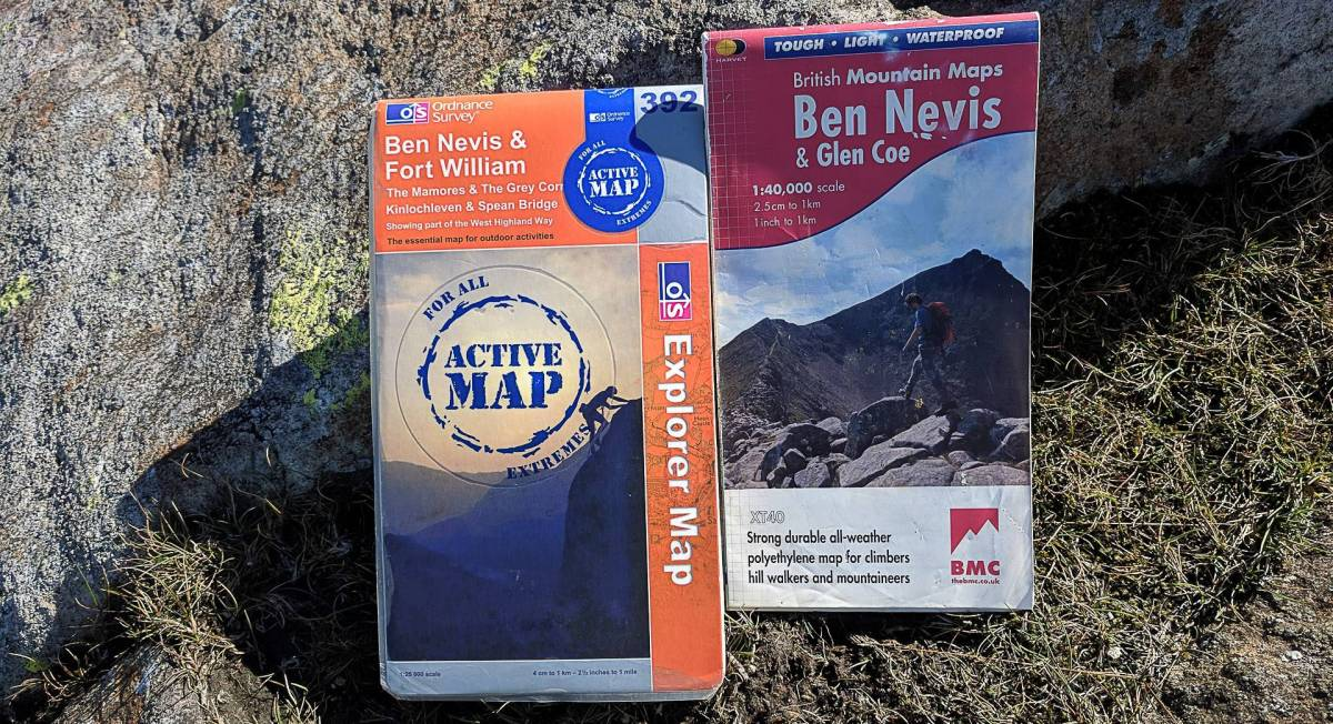 Best Maps For Ben Nevis