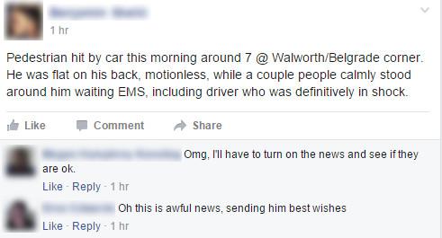 Facebook Rozzie Crash Announcement