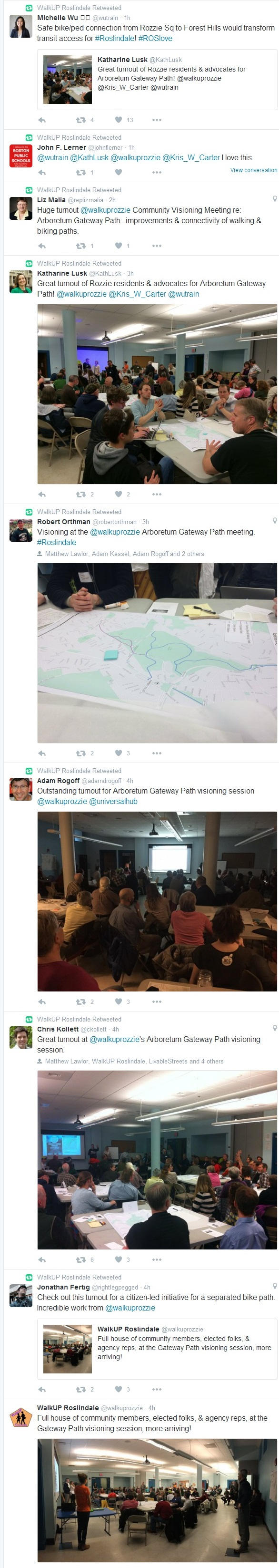 Tweets about Gateway Path Visioning Session