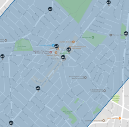 Proposed Roslindale Bikeshare Locations