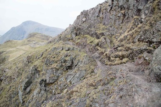 Scafell Pike via the Corridor Route from Wasdale Head