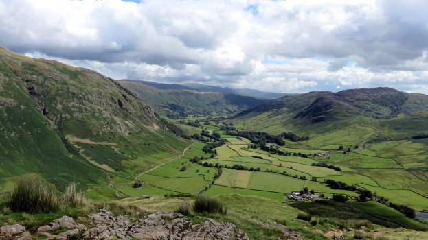 Classic Lake District Walks - Bowfell and Crinkle Crags from Great Langdale