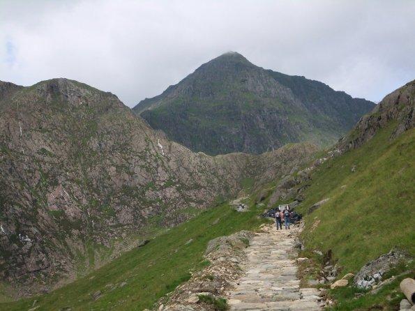 Walk up Snowdon via the Miners' Track