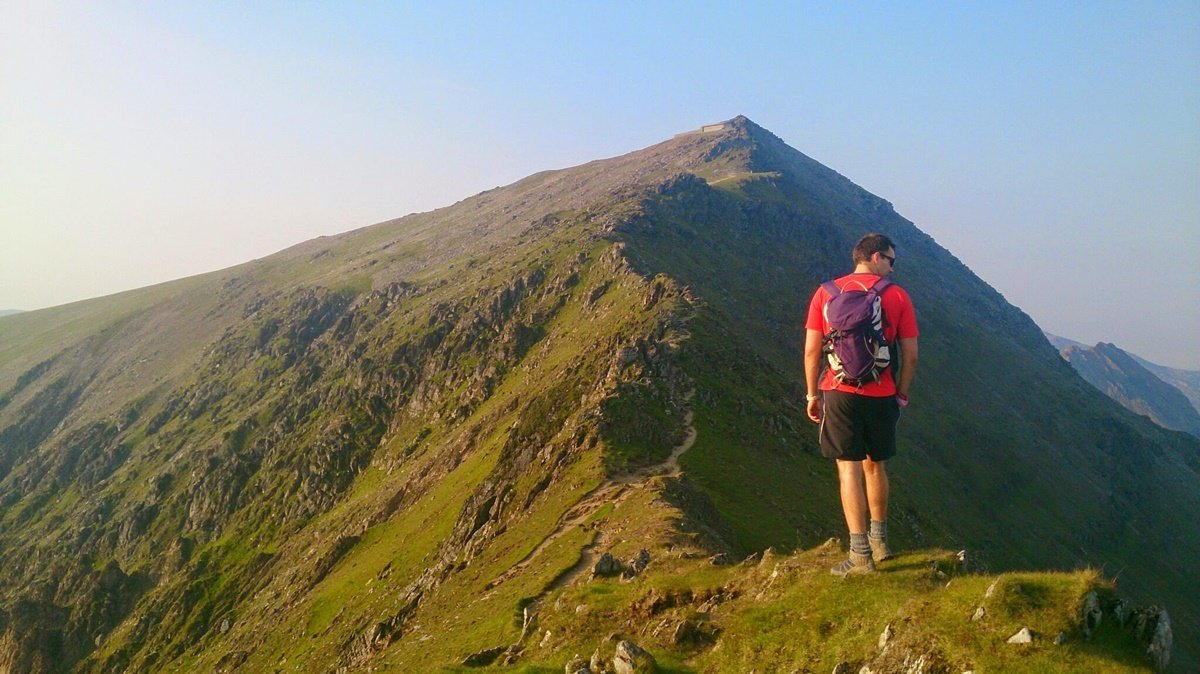 The Rhyd Ddu Path up Snowdon