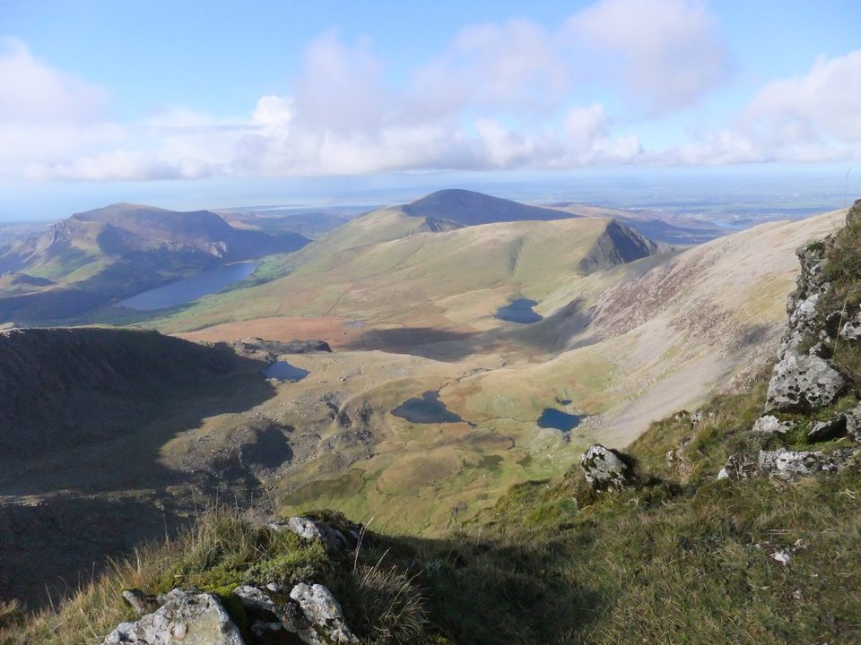 Walk up Snowdon South Ridge from Rhyd Ddu