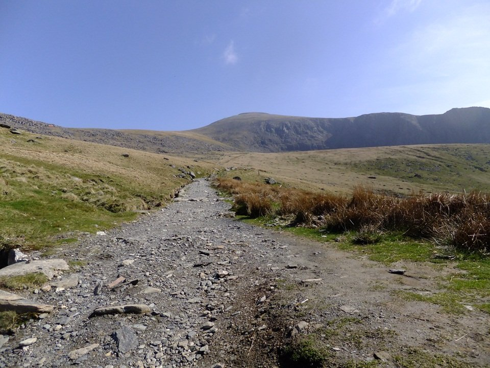 The Llanberis Path up Snowdon