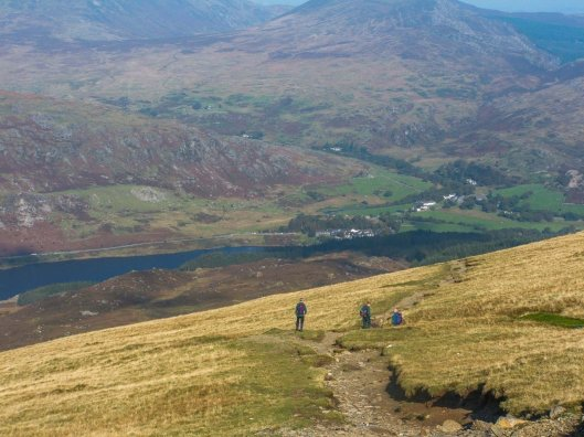 Walking Routes up Moel Siabod