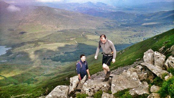 walks in snowdonia Nantlle Ridge Scramble