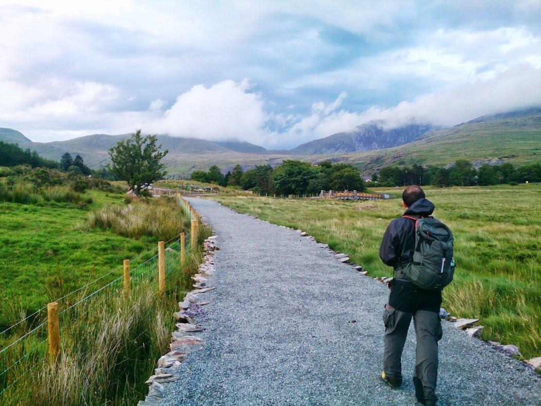Easy Family Walks in Snowdonia - Lon Las Gwyrfai