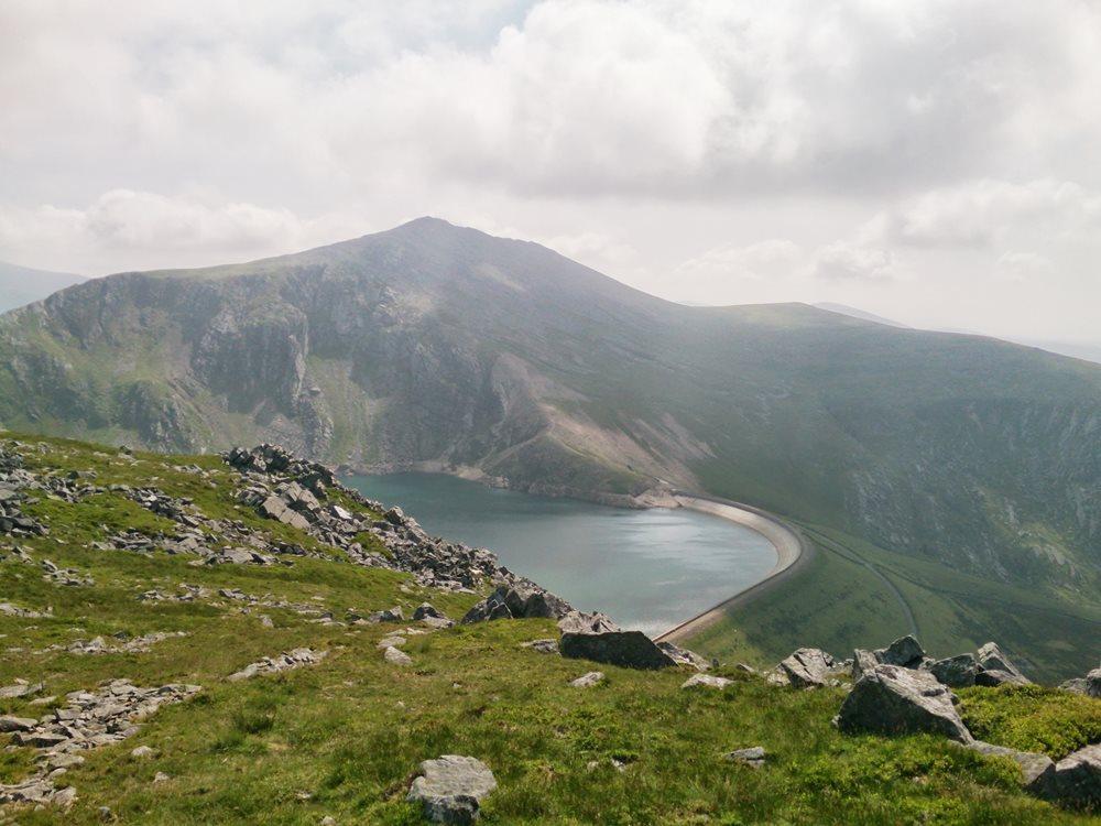 The Highest Mountains in Snowdonia Elidir Fawr