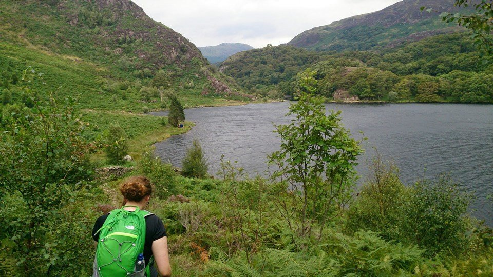 Easy Family Walks in Snowdonia - Llyn Dinas