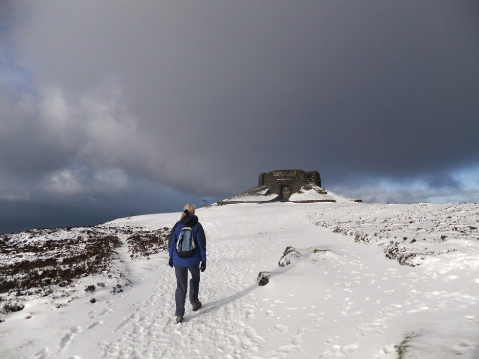 Easier Hill Walks in Snowdonia and North Wales - Moel Famau