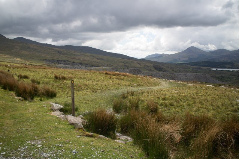 Clogwyn y Gwin Path and Maesgwm (107 of 135)