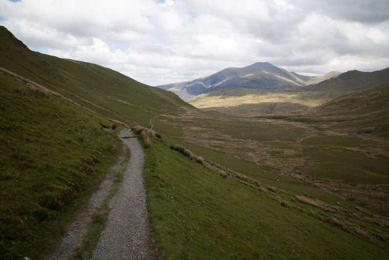 Clogwyn y Gwin Path and Maesgwm (120 of 135)