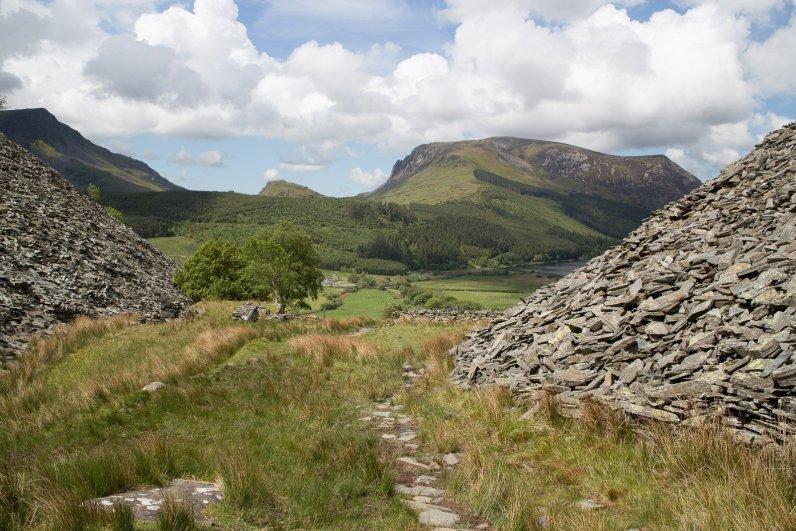 Clogwyn y Gwin Path and Maesgwm (92 of 135)