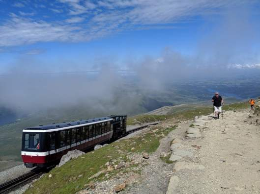 Walk up Snowdon via the Llanberis Path