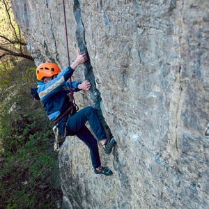 Rock Climbing experience for young climber