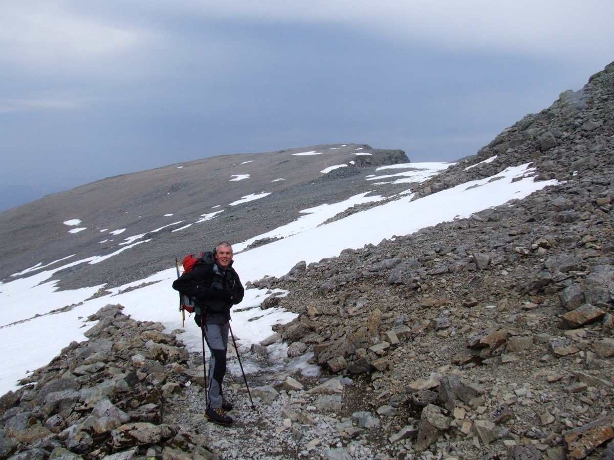 National 3 Peaks Route up Ben Nevis Mountain Track