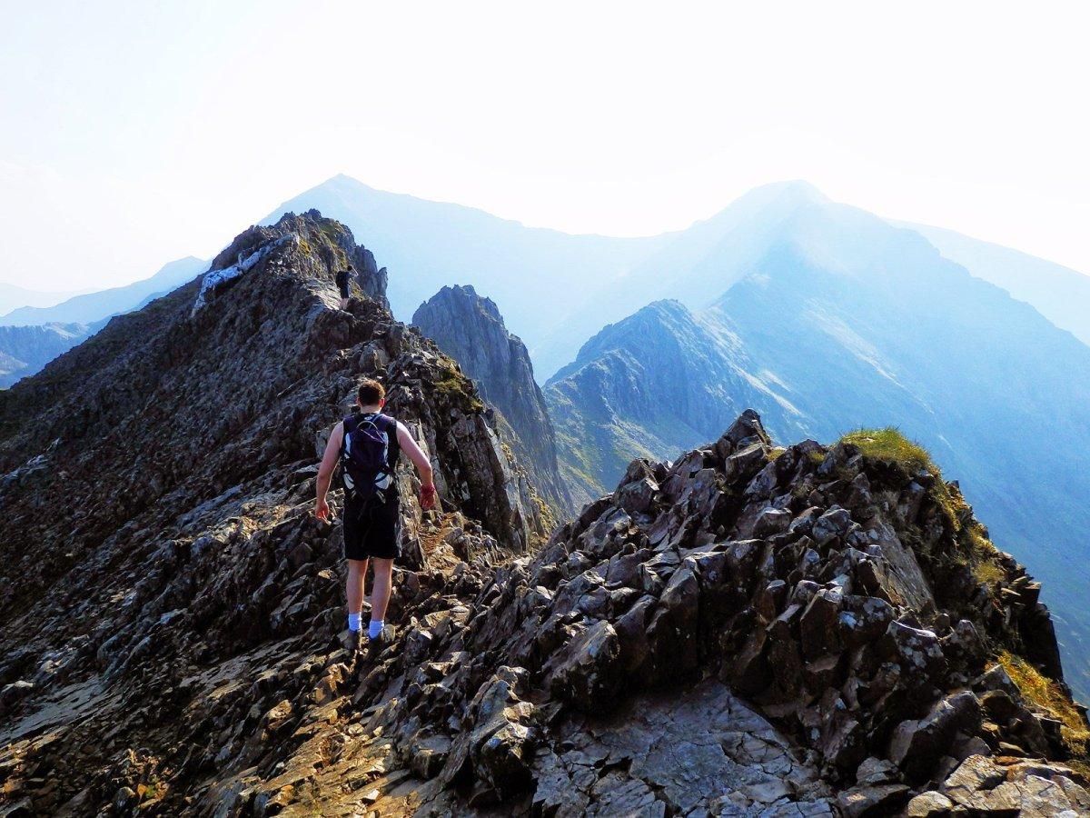 Crib Goch National 3 Peaks Route up Snowdon