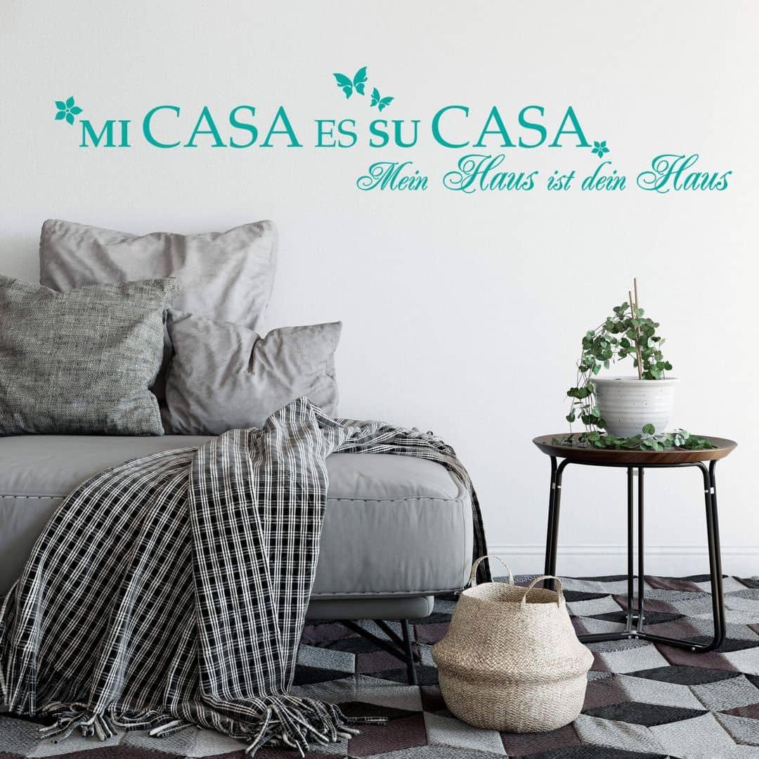 Wandtattoo Mi Casa Es Su Casa
