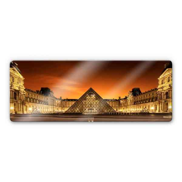 Kiciak - Illuminated Louvre Glass Art