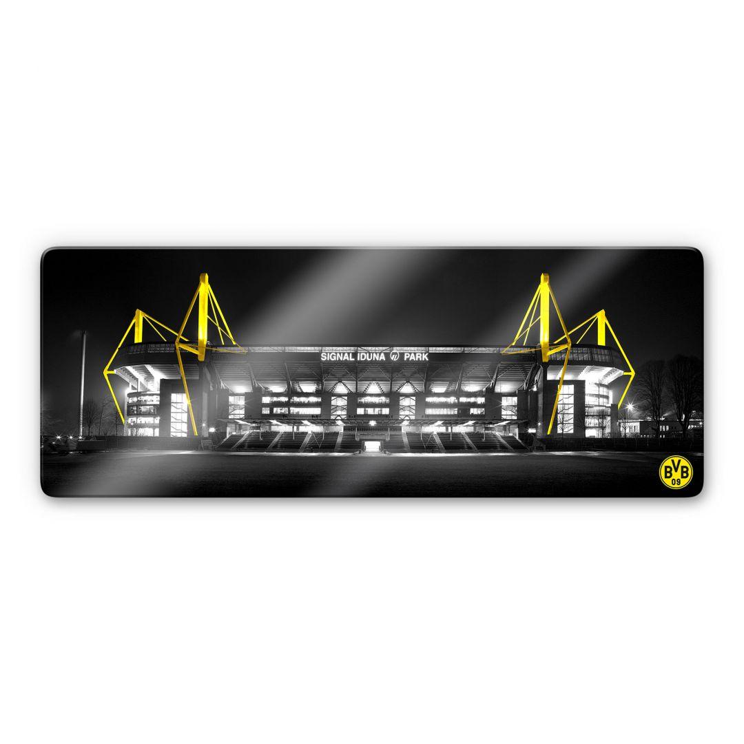 Modernes Glasbild von Borussia Dortmund  BVB  wallartde