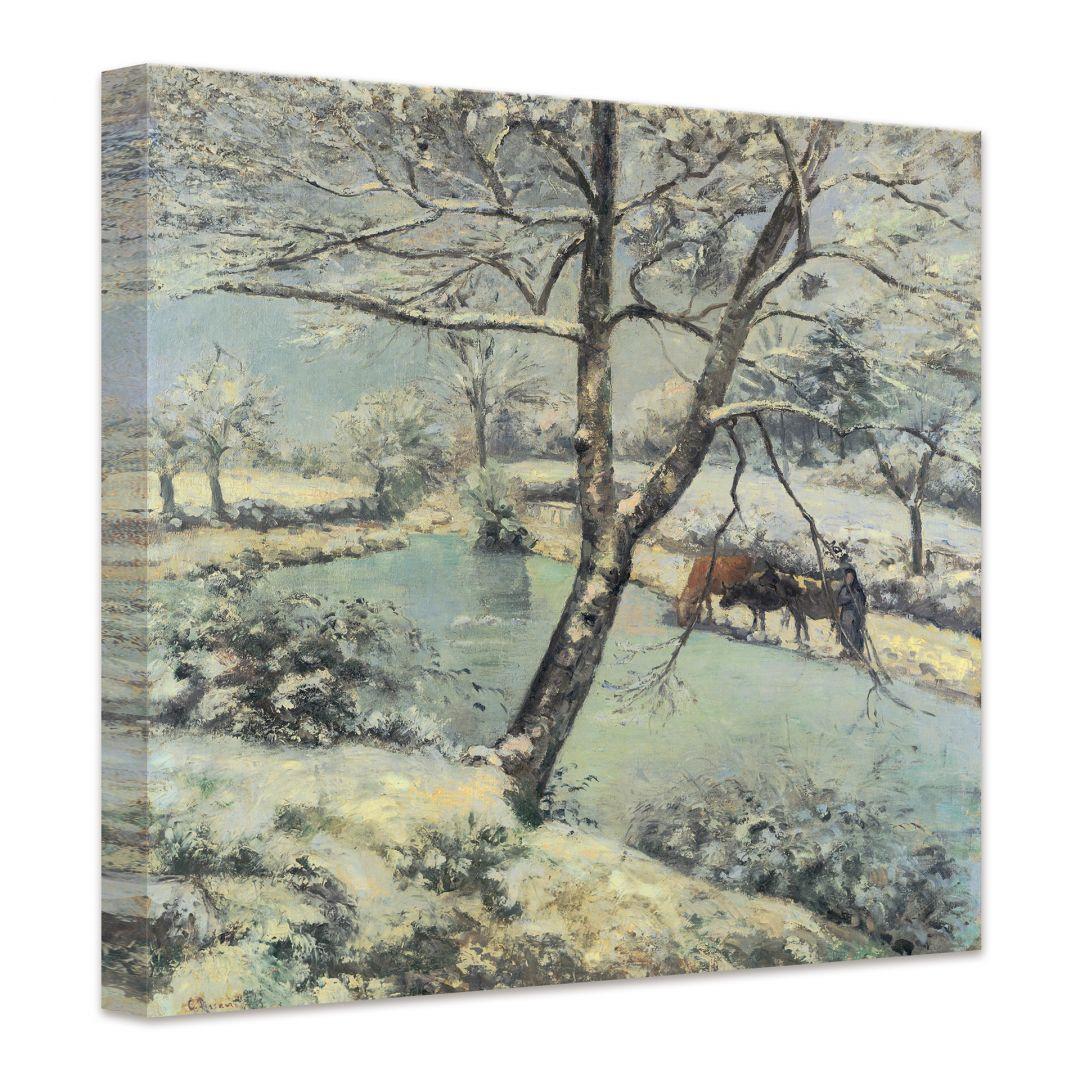 Pissarro  Paesaggio invernale presso MontFoucault  wallartit