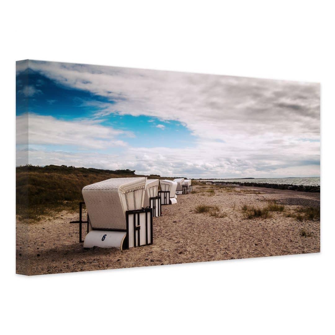 canvas beach chair ergonomic egypt in hiddensee print