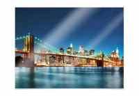 Poster - Lights in New York City 02 | wall-art.de