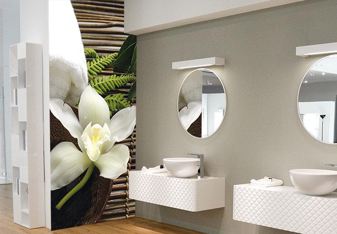 Fototapete Wellness Orchidee  Wanddekoration fr Ihre