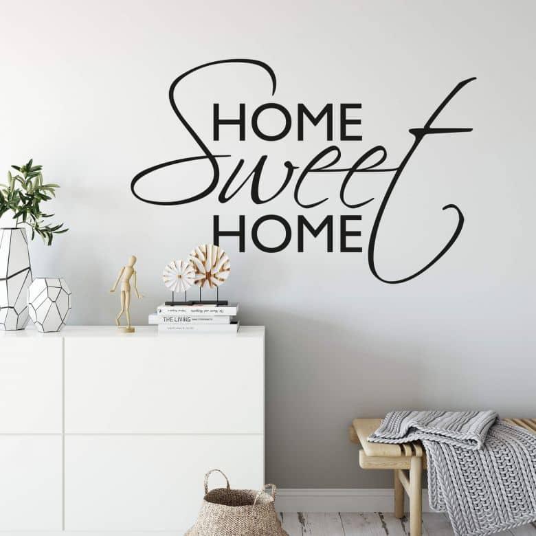 wandtattoo home sweet home 1