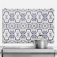 Dutch Tiles 3 - Kitchen Splashback - wall-art.com