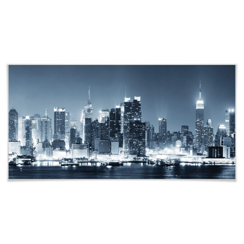 poster new york la nuit 01