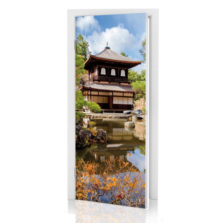 stickers de porte temple japonais 2