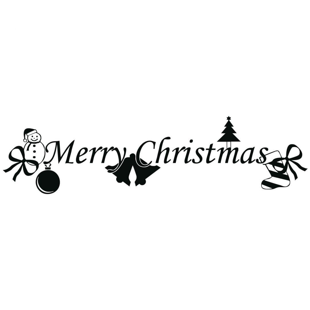 Merry Christmas Wall Sticker