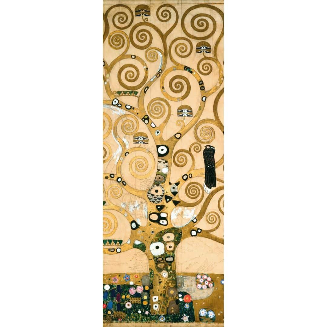 Kunstdruck Fototapete Gustav Klimt Der Lebensbaum als