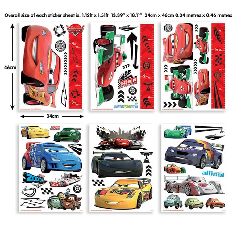 Wall sticker set Disney Cars 81
