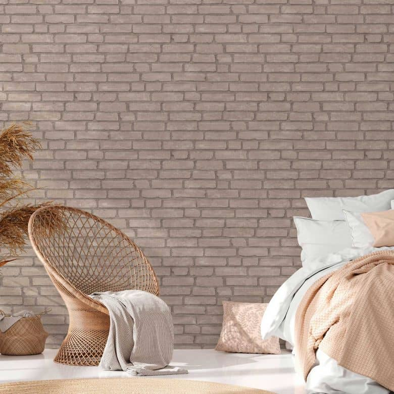 Un vero complemento d'arredo stile moderno, inglese e shabby chic. Livingwalls Carta Da Parati Industrial Mattoni Wall Art It