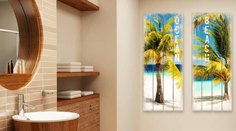 Wandbilder fr das Badezimmer bestellen  wallartde