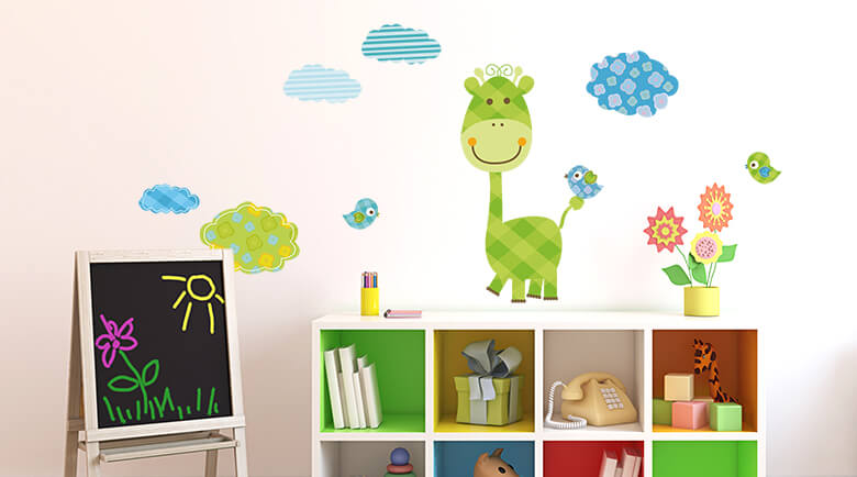 stickers muraux pour enfants wall art fr