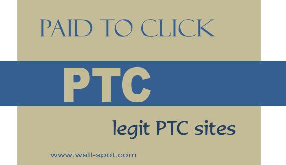 Legit paid to click sites