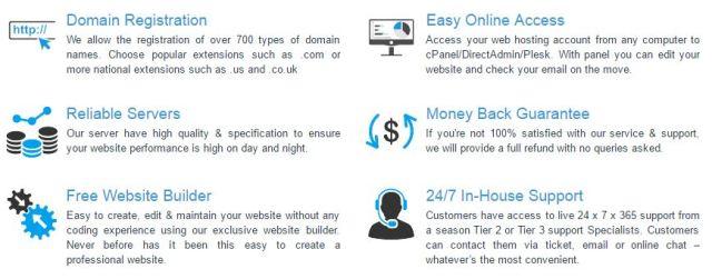 ewallhost hosting features