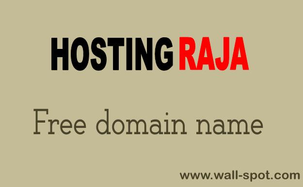 hostingraja free domain name