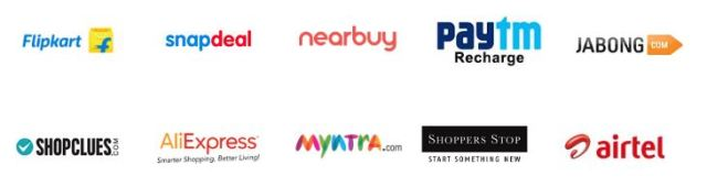 indian cashback retailer websites