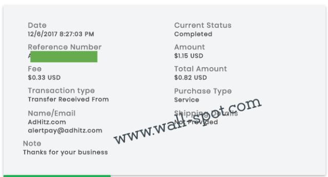 payza payment details