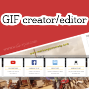 GIF creator and editor