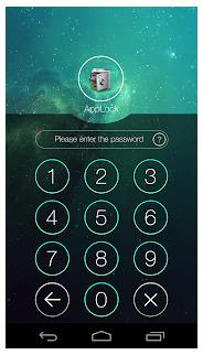 AppLock screen  - lock any app