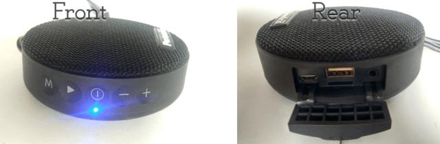 Portronics sound bun portable bluetooth speaker