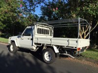 Canvas canopy kits for Hilux : Wallaby Track Canvas